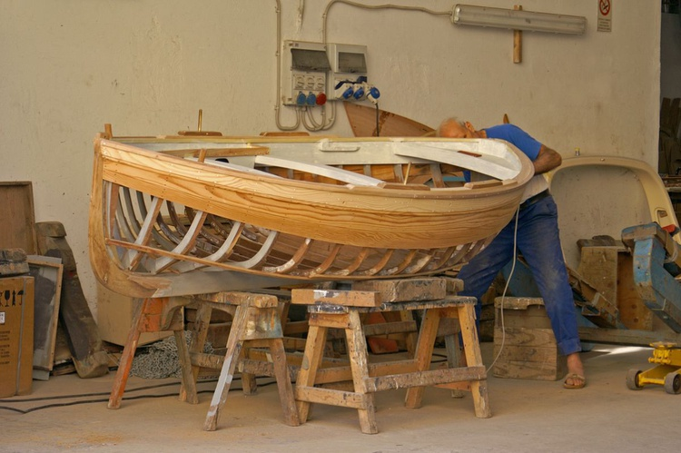 Boat Building - Image 0