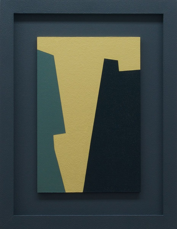 AUDACITY - Framed Modern / Abstract Painting - Image 0