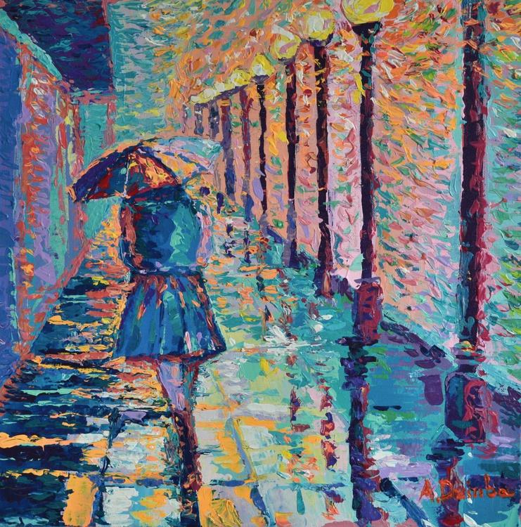 NEW! Girl with Umbrella - Image 0