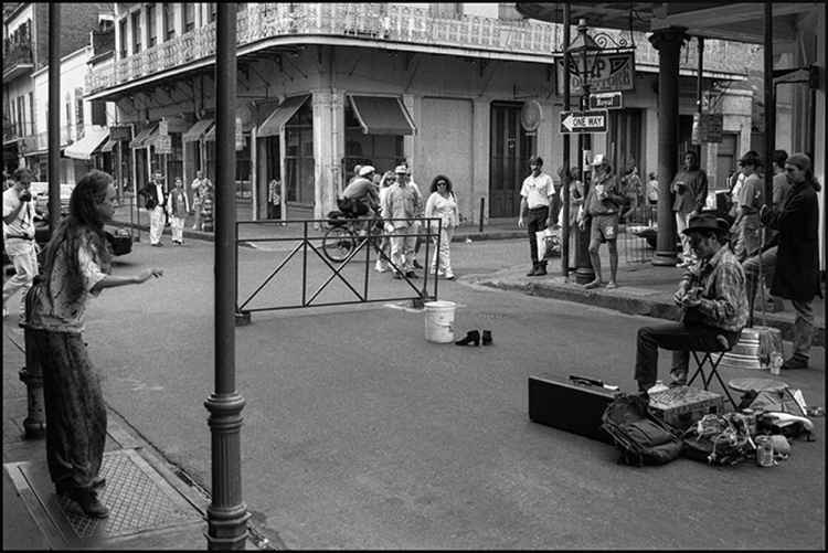 New Orleans Two-Piece Street Band with Dancer #2