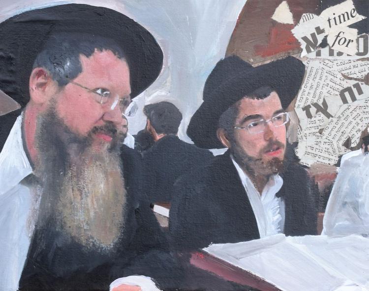 Brooklyn, Studying Torah - Image 0