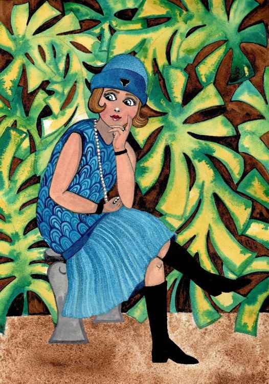 1920's Flapper -