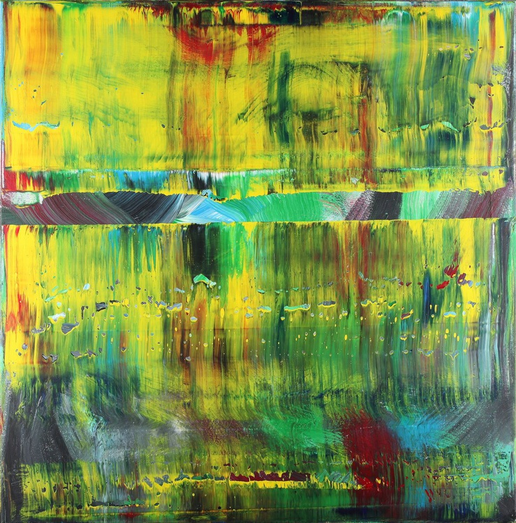 Abstract yellow & green 01 - Image 0
