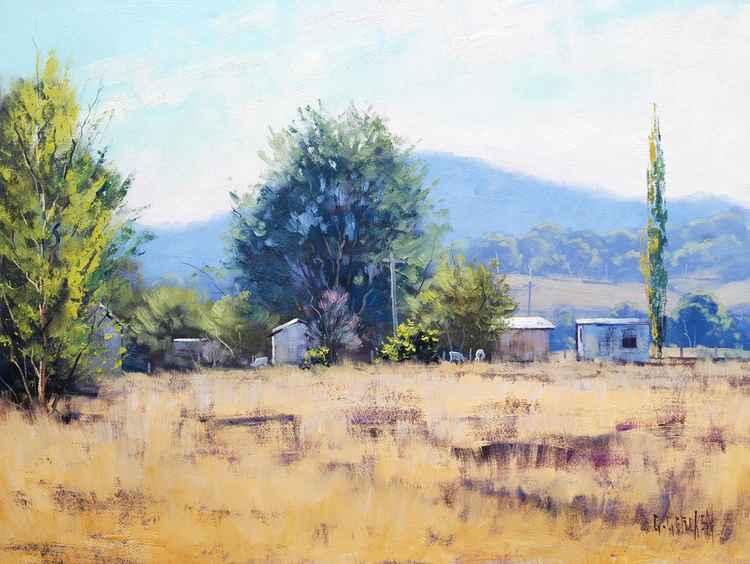 Farm sheds Tumut -