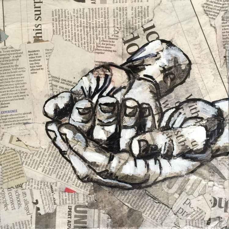 Receiving, Hand Study -