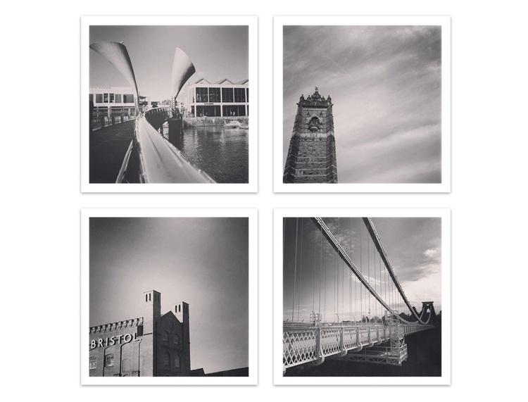 Black and White Bristol - Image 0