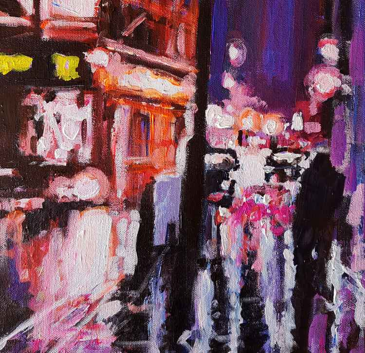 London Rainy Street -