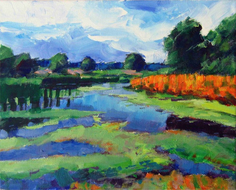 landscape with river - Image 0