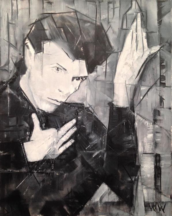 Cubist Heroes : David Bowie Portrait - Image 0