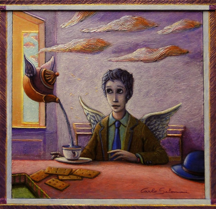 THE ANGEL'S BREAKFAST - (framed ) - Image 0