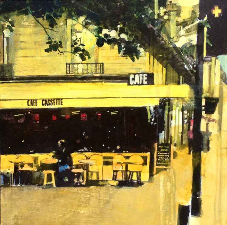 Cafe Cassette, Rue de Rennes, Paris, 2 Oct