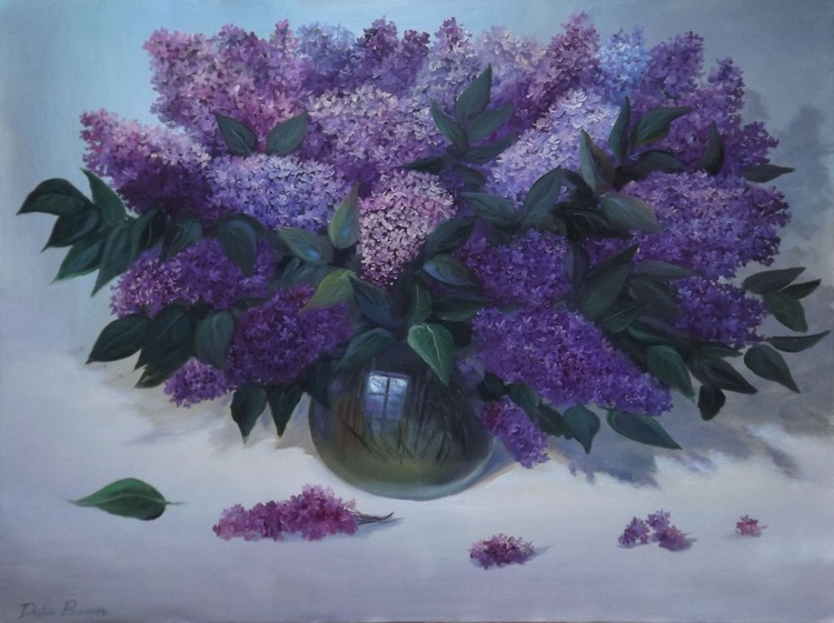 Vase of Lilacs - Image 0