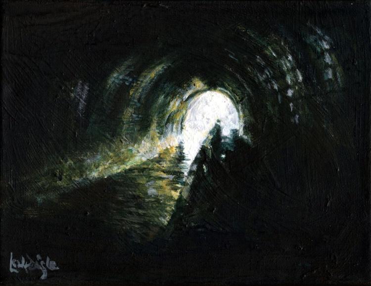 Heading North (Chirk Tunnel) - Image 0