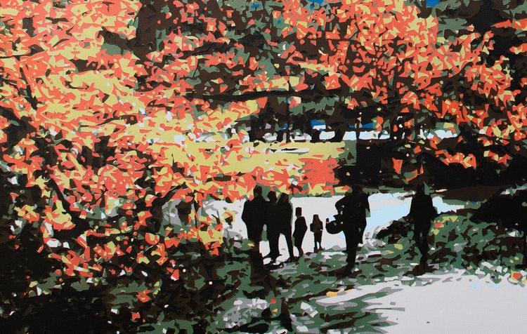 Central park in the fall - Image 0