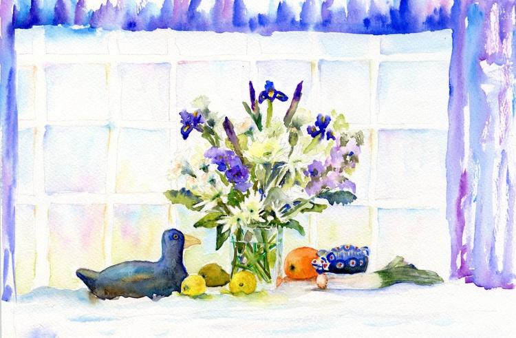 The Blue  Window . - Image 0