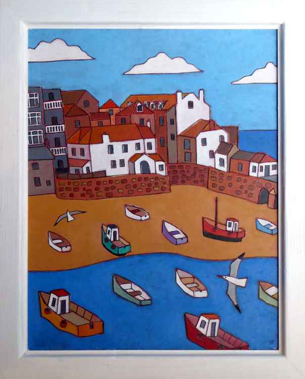 St Ives harbour -