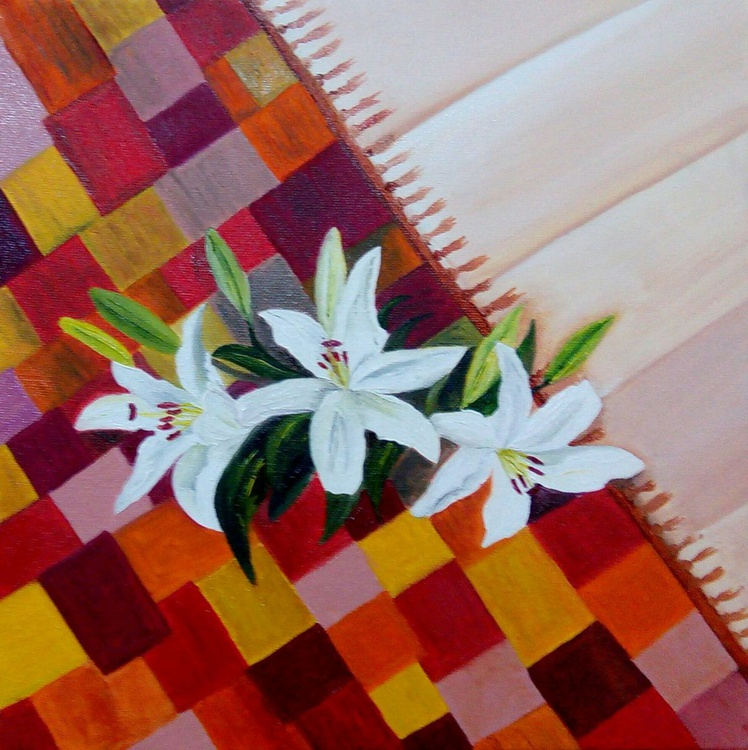 Lilies on the carpet - Image 0