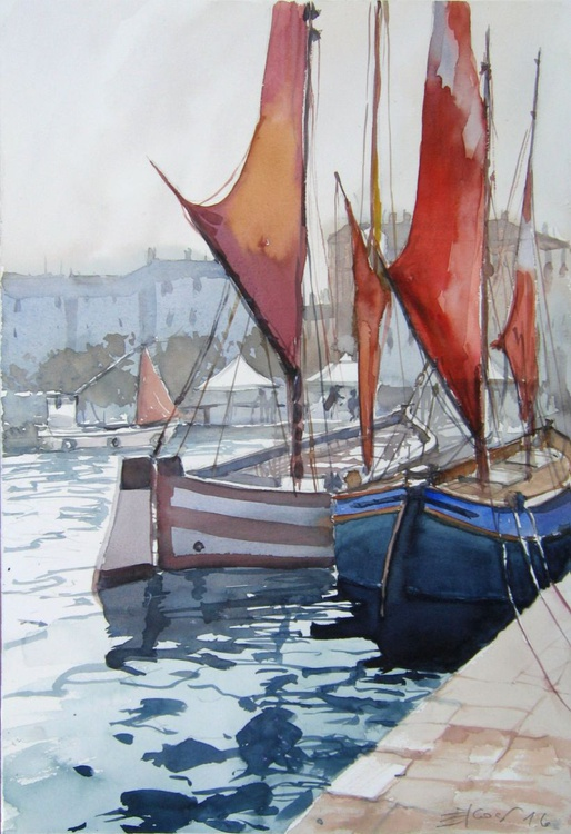 In the harbor II - Image 0