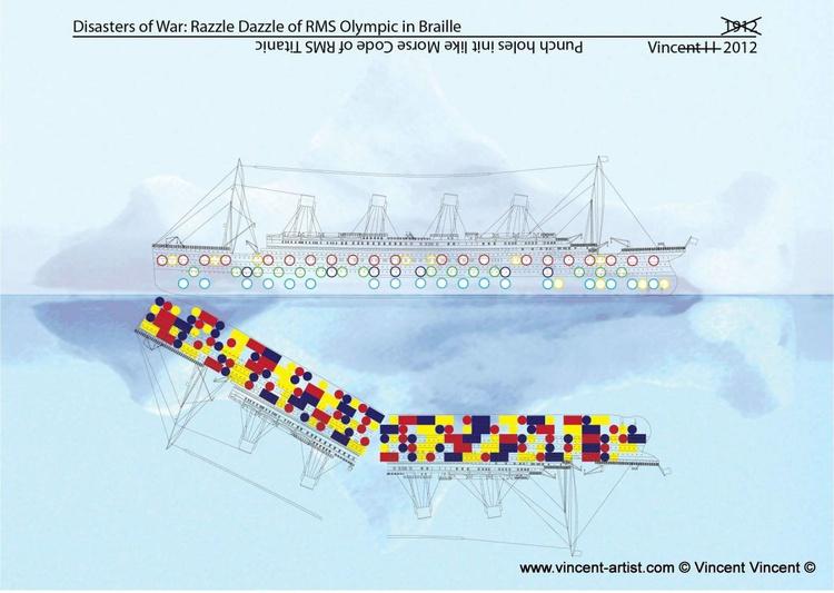 Razzle Dazzle of Olympic v Titanic - Image 0