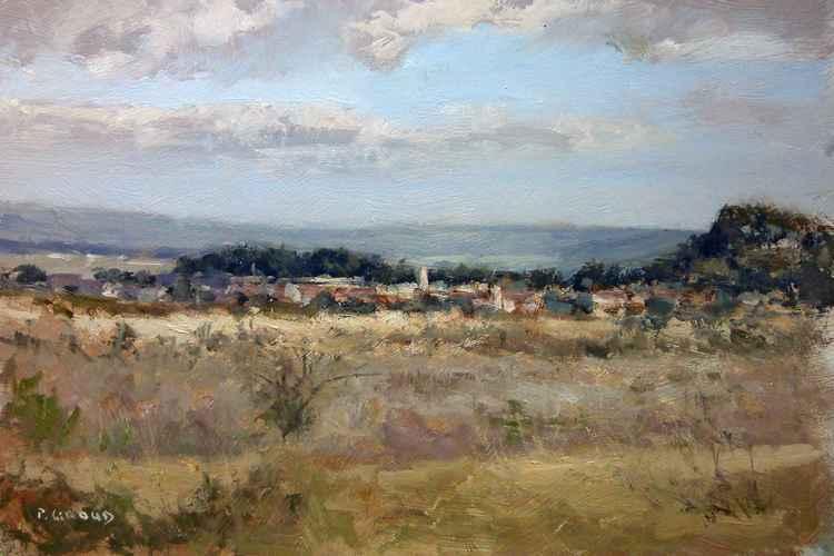 Landscape near Sisteron -