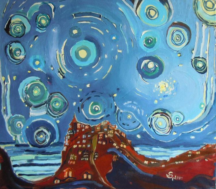 Starry Night near the sea   - Image 0