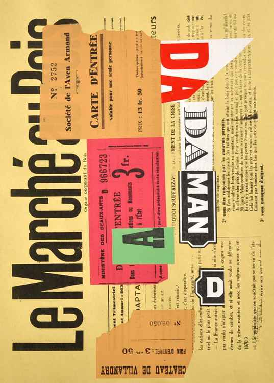 Dada Collage Nr 20 Le Marche