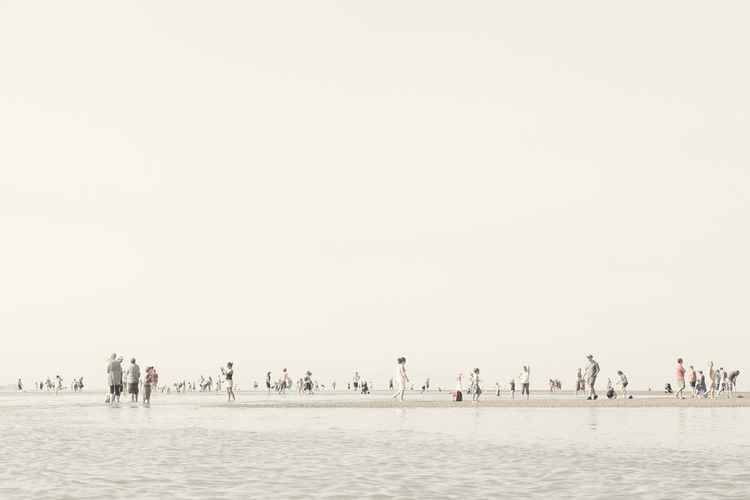 Beach Crowd #3 -