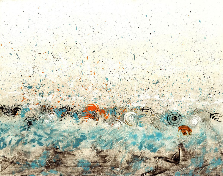 Rhythmic Hour | 65x52cm | Framed - Image 0