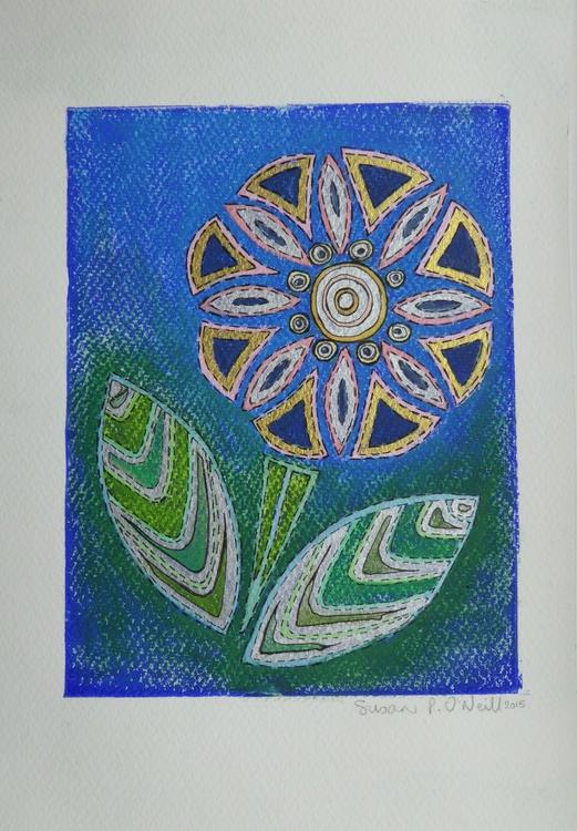 Geometric flower 2 - Image 0