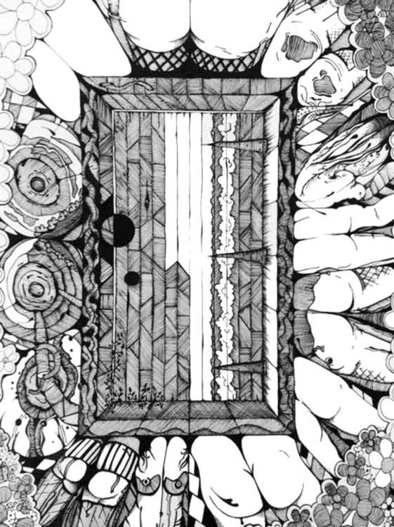 Behind the door of intrigue - Image 0