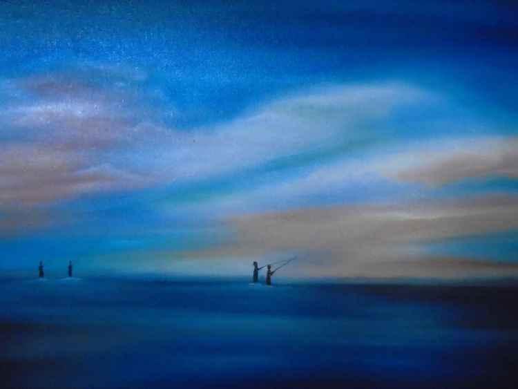 Fishing the sky