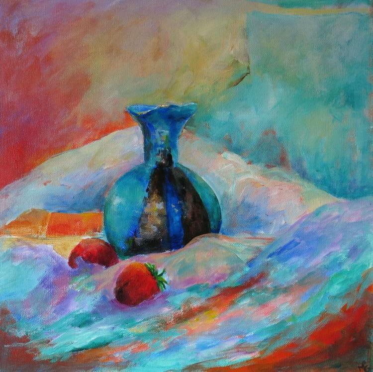 Ezra`s Blue Pot - Image 0