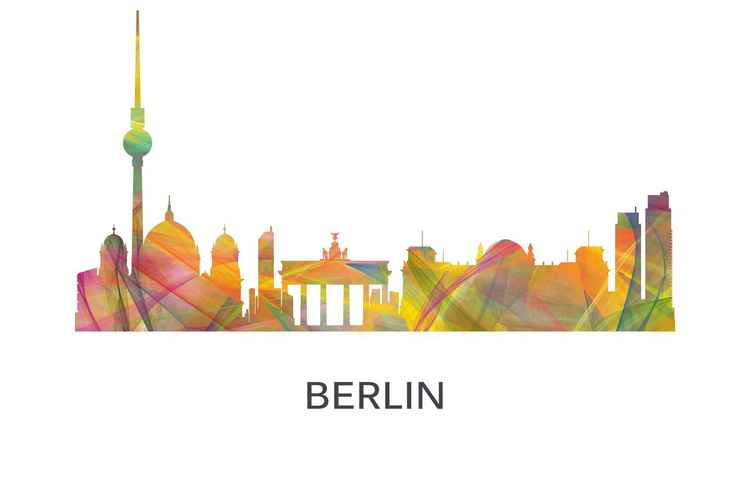 Berlin, Germany Skyline WB1