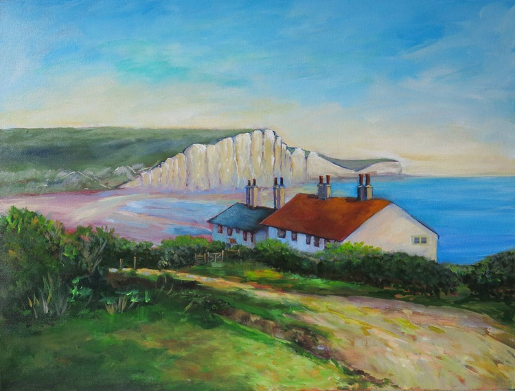 The Seven Sisters and Coastguard Cottages (Brighton) - Image 0