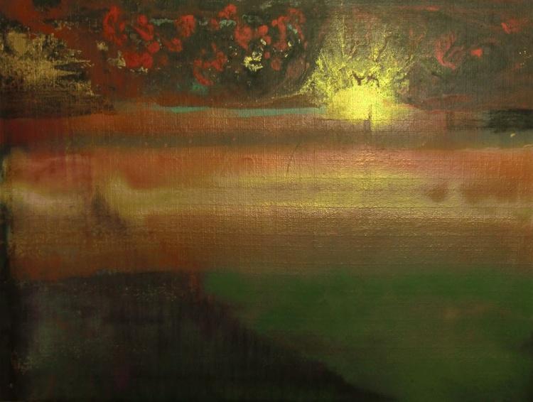 Sunset on Bronze Planet - Image 0