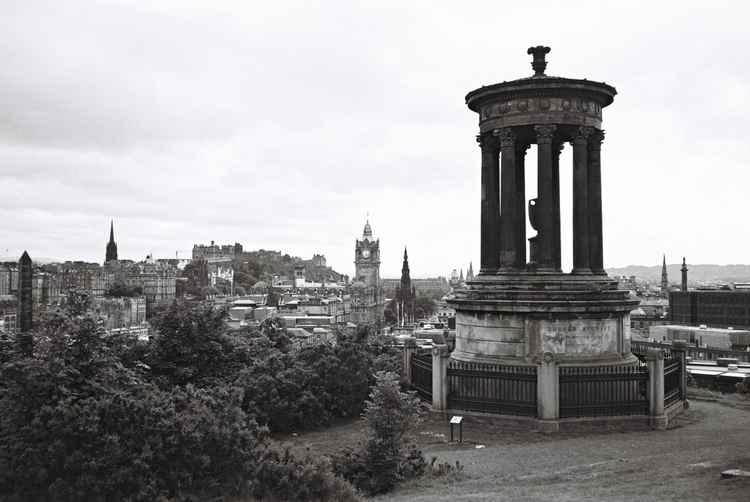 View from Calton Hill, Edinburgh (2) -