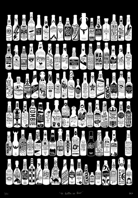 99 Bottles (Large Black) - Image 0