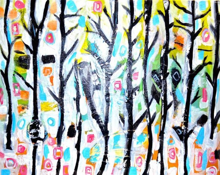 Abstract Tree Art - Joy - Image 0