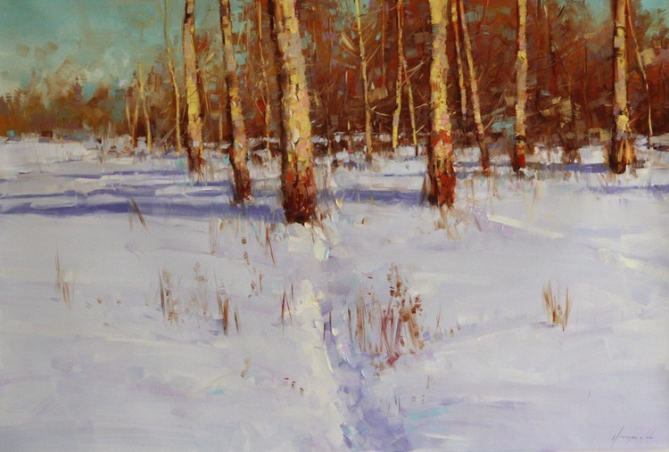 Snow Covered Meadow - Image 0