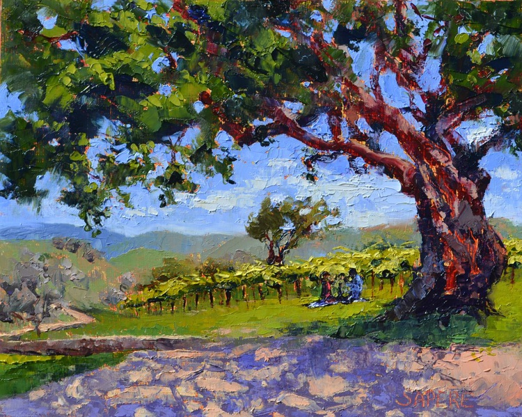 Picnic in the Vineyard - Image 0