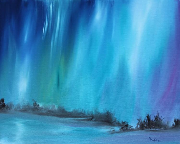 Falling Lights in Lake - Image 0