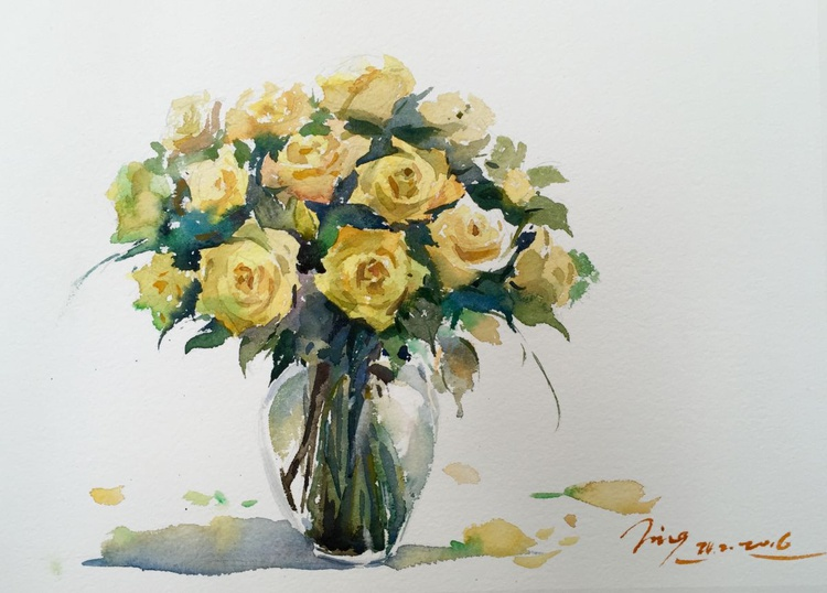 Yellow Roses 2 - Image 0
