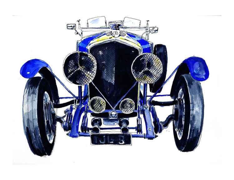 Blue Bentley -