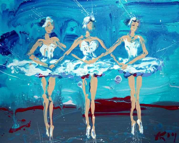 Ballet, 50x40 cm -