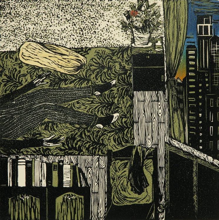 "My New York Apartment: Day 1 (12x12"") - Image 0"