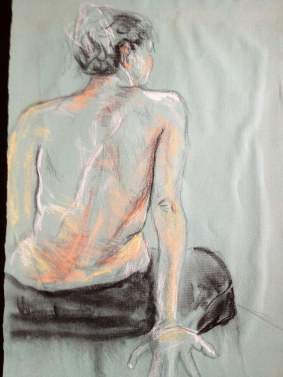 "Handmade Book: ""Flesh Perspectives: Not so still life drawings"" - Image 0"