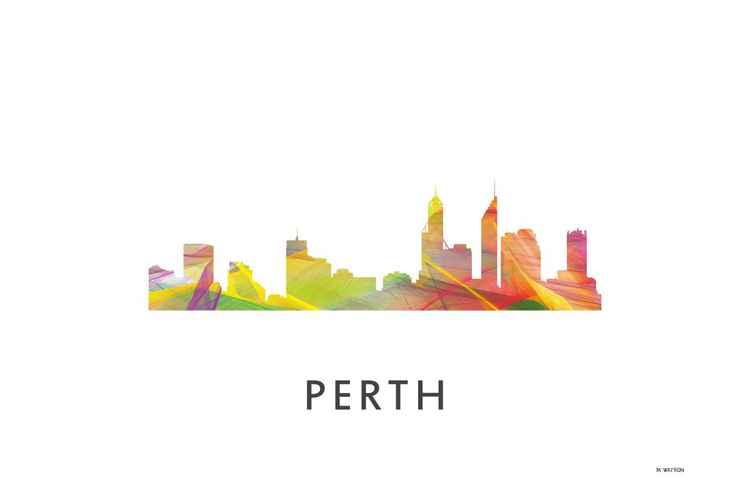 Perth Australia Skyline WB1