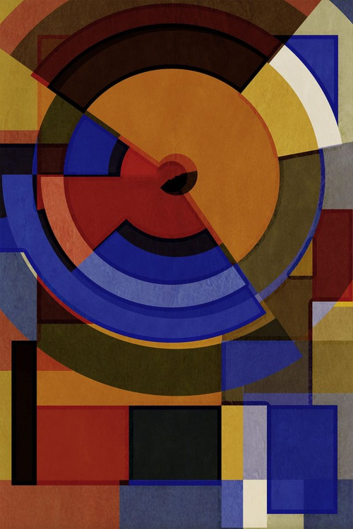 Hertz Van Bauhaus ONE, Abstract Geometric Art, Limited Edition of 6 - Image 0