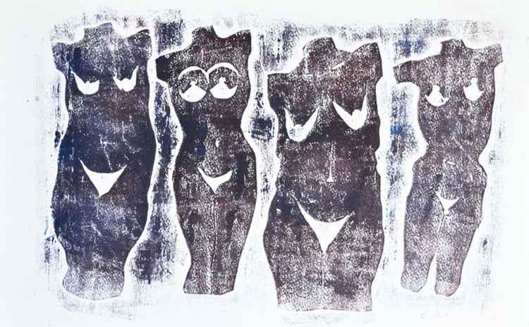 Four faced -