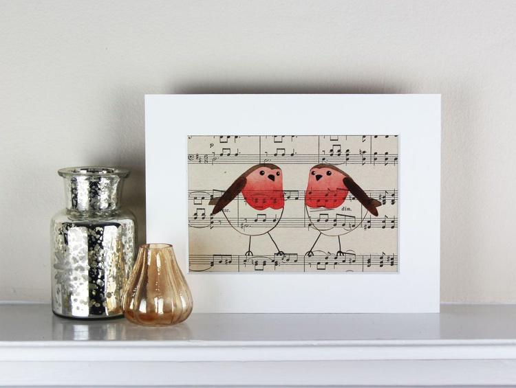 2 Robins - Image 0